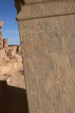 Bark stand of Taharqa in the Great Temple of Amun at Gebel Barkal